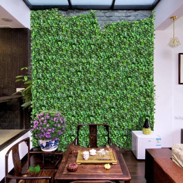Fashion Home Wall Decor Wall Hanging Plant Vine Artificial Silk Climbing Ivy Rattan Wedding Christmas Garlands Ornament Supplies