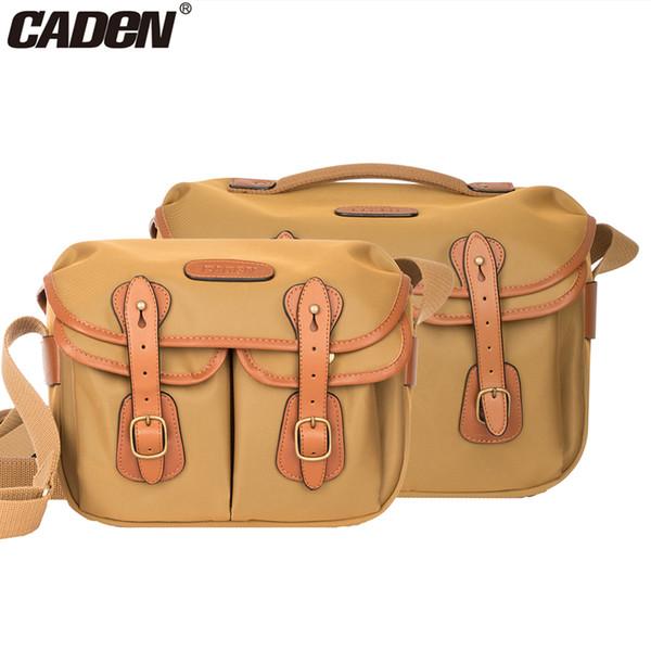 Caden DSLR Camera Waterproof Elegant Stylish Sling Shoulder Bag Crossbody Messenger Men Women Bag Case for Canon Nikon Sony