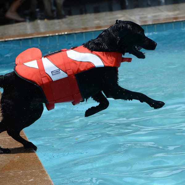 Dog Life Jacket Pet Dog Life Vest Safety Clothes Swimwear Swimsuit Dog Swim Vest Float Small Medium Large