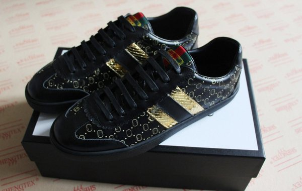82c440762 mens women GUCCI Designer shoe fashion dapper luxury brand dan casual shoes  black light brown white