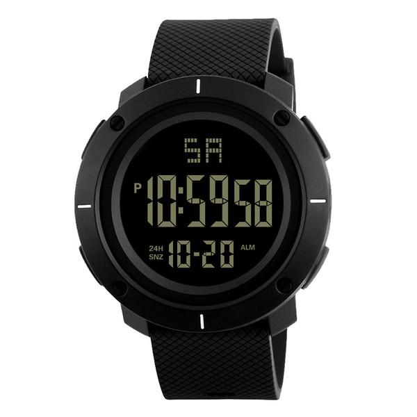 Reloj de la manera de los hombres 2018 Hombres de lujo Relojes analógicos digitales Ejército Deporte LED Reloj de pulsera impermeable Reloj de los hombres # YL5