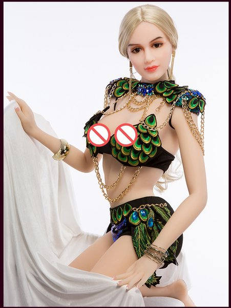 Silicone Sex Doll New 158 CM Fashion Style Real Love Doll, TPE de goma Big Breast oral / vagina Sexy Real Lifelike Sex Doll