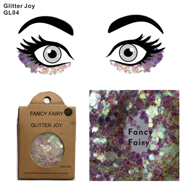 2019 Gl04 Fancy Fairy Festival Face Glitter To Sparkle Glitter Eyeliner Eyebrow Hair Root Body Paint Decoration 14 Orders From Himalayastore 1 92