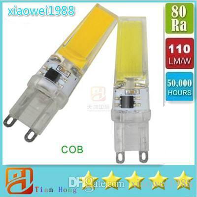 Dimmbare LED G9 Lampe 220V 6W COB SMD LED Beleuchtung Lichter ersetzen Halogen Strahler Kronleuchter