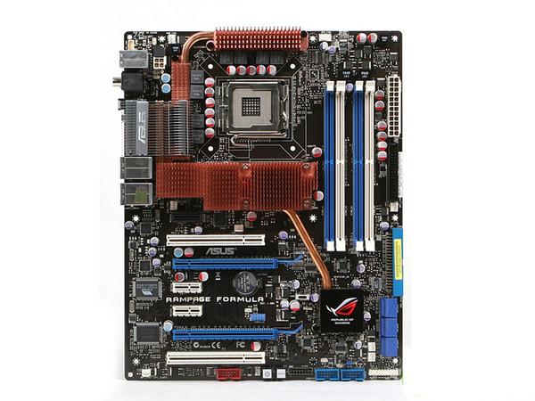 For ASUS RAMPAGE FORMULA Socket LGA775 ATX Desktop MotherBoard Intel X48 Systemboard