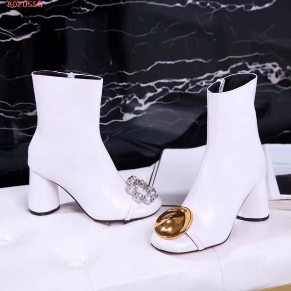 Оптовая роскошные женские сапоги известный бренд повседневная обувь поставщик genuin кожа высокое качество шипованных горный хрусталь ботильоны новое прибытие