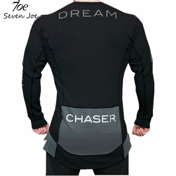 Seven Joe Mens Bodybuilding Hoodies Gyms Fitnes Clothing Workout Slim Fit Sweatshirts Male pullover Sweatshirts Boys Sportswear