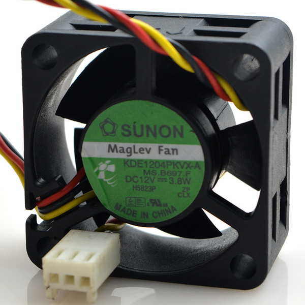 SXDOOL ABB06D12HG 6013 12V 0.30A power supply chassis cooling fan three wire ball ABB06D12HG