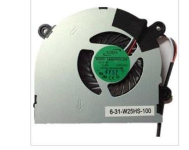 laptop cpu cooling fan cooler fan for MSI S6000 X600 CLEVO 7872 C4500 FAN AB6505HX-J03 AB6605HX-J03 (C4500) 6-31-W25HS-100