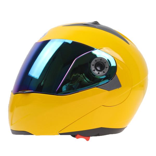 JIEKAI Marke Flip Motorrad Helm Doppelglas Helm Street Bike Rennrad Vollgesicht 7 Farben erhältlich