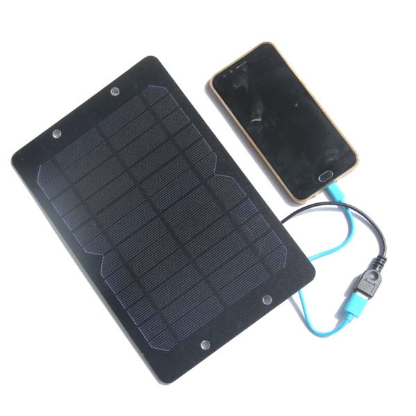 BUHESHUI 6W 6V Solar Charger Monocrystalline PET Small Solar Panel Cell Battery Bicycle Sharing Solar Panel Charger Free Shipping