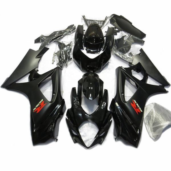 Para GSXR1000 K7 07 - 08 Kit de carenados de carrocería Kit completo de carenado de inyección con protección contra el calor GSX-R GSXR 1000 2007 2008