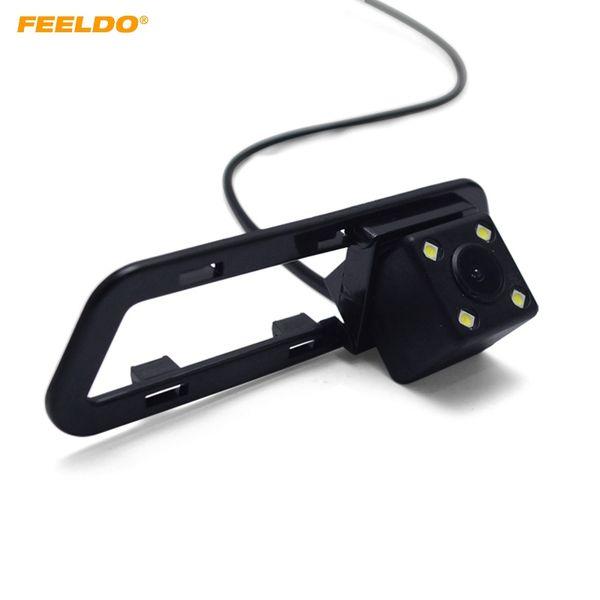 FEELDO Car CCD Night Vision caméra de recul pour Nissan Tiida 2011-2017 Stationnement Sécurité Caméra de recul # 2636