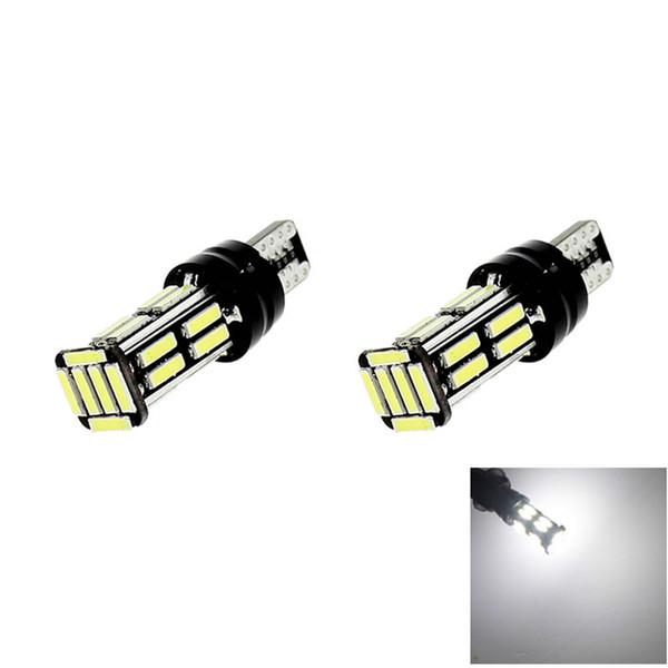 T10 W5W 22 Car Led Lights 7020 SMD Canbus Erro Free Side Coner Parking Light Bulbs Instrument Panel Lamp White 12V