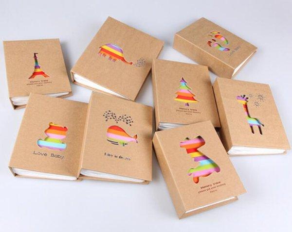New Home 100 Poches 6 pouces Photo Album Photo Cadre De Stockage Pour Enfants Enfants Cadeau Scrapbooking Picture Case Album Photo