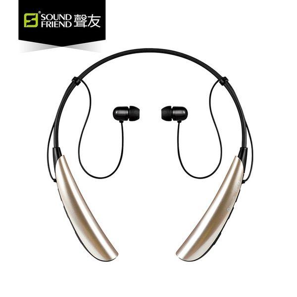 Factory direct Bluetooth headset sports wireless stereo can talk music running headphones audio friends