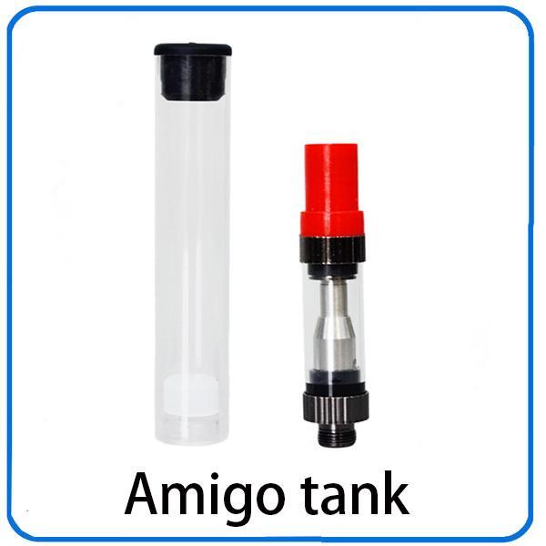 Pyrex Glass Tube tank Liberty v1 Atomizadores Pyrex Vape Amigo vaporizador Amigo 0.5ml 1.0ml clearomizer amigo atomizador 0266174-1