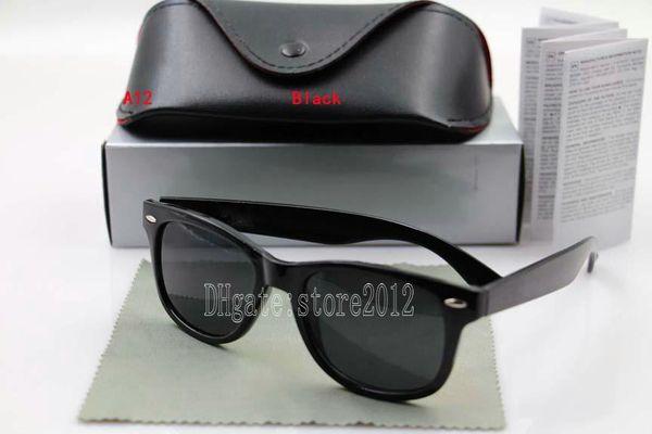 Bright black frame black lens