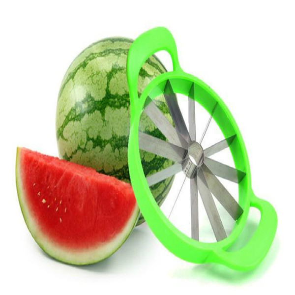 Watermelon Cutter Convenient Kitchen Cooking Cutting Tools Watermelon Slicer Cantaloupe Knife Fruit Cutter