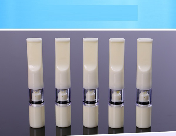60pcs smoke clean cool smoking pipe cigarette holder double High-efficient filtration white disposable tobacco cigarette filter mouth tip
