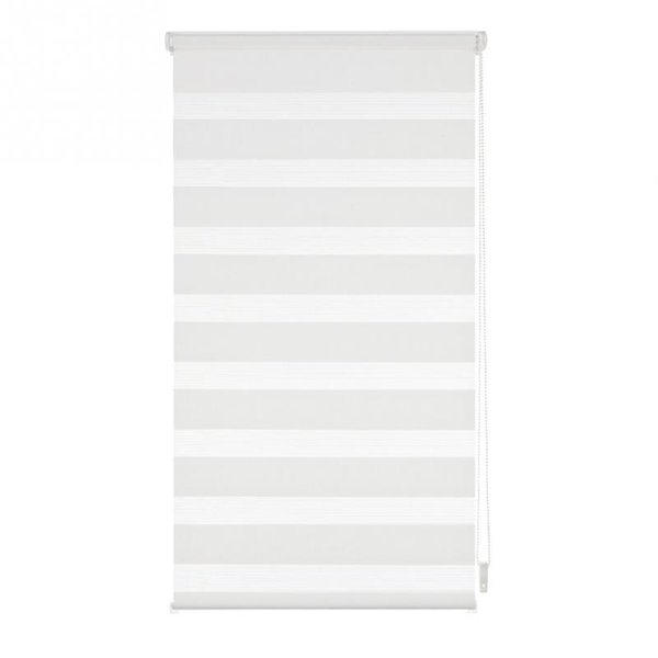 Fashion Luxury Roller Zebra Blind Curtain Window Shade Home Decoration White