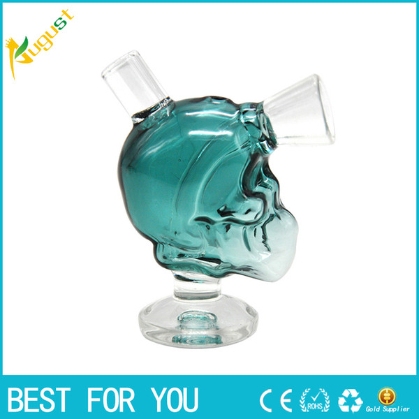 Net hot Mini Skull glass Blunt Bubbler Smoking Bubble Small Water Pipes Small Pipes Hand Pipe bowl