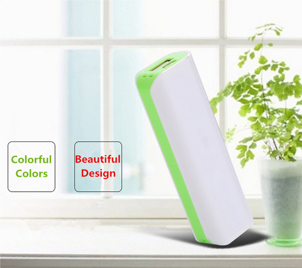 2600 mAh Power Bank Portable External Emergency Backup Battery Charger Universal Mobile Phone PowerBank USB Chargers Pack for Cell Phones