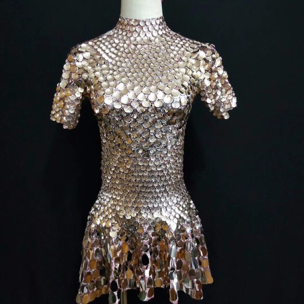 customize Sexy Pole Dance Clothing Jazz Sequin Wear Women Performance Costumes Dj Singer Stage Clothes Woman Party Outfit QNY466