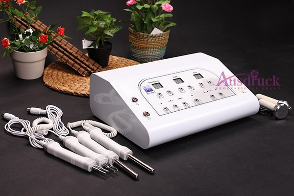 New arrival Microcurrent Bio Ultrasound Face Lifting Ultrasonic Facial Massager SKin Toning Rejuvenation Beauty salon machine