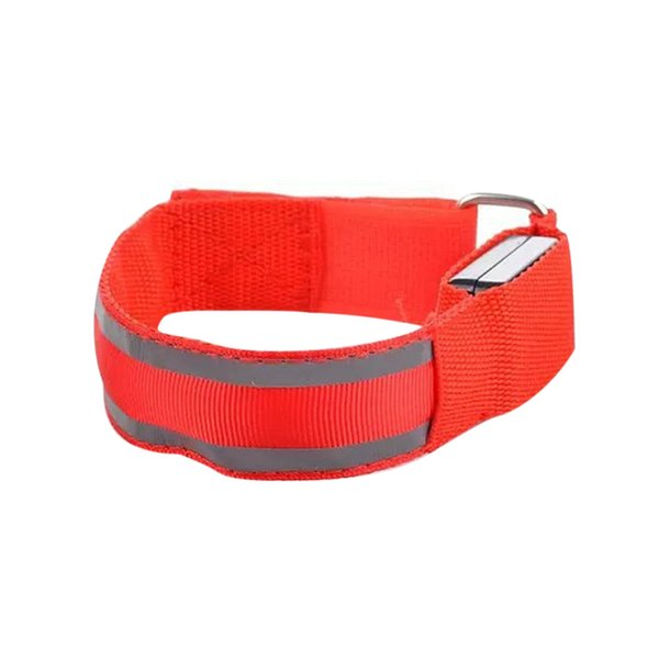 Reflective LED Light Arm Armband Strap Safety Belt For Night Running Cycling 10.4