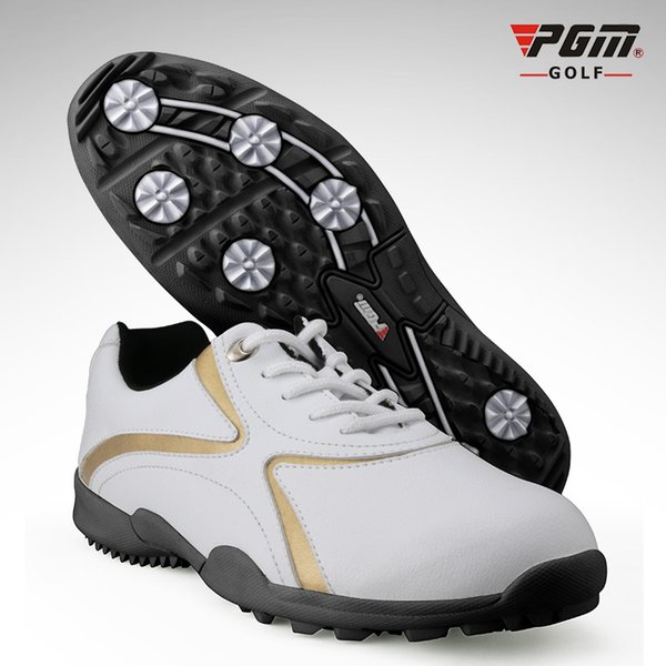 PGM Golf Shoes For Men Waterproof Anti-Skid Man's Sports Sneakers Platform Golf Footwear Men Breathable Shoes Free Shipping