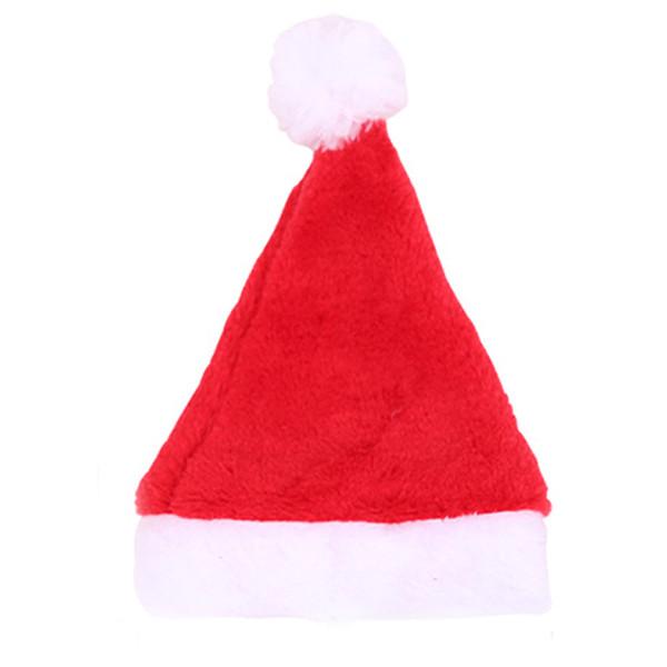 Neue Weihnachtsdekoration Pet Cap Cute Dog Weihnachtsmütze mit Party Hüte Outdoor Caps Weihnachtsgeschenk für Cat Puppy Party Kostüm Headwear Acc