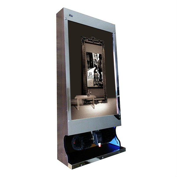 shoe polisher automatic shoe polish machine light box advertising polishing machine hotel office electric shoe cleaner