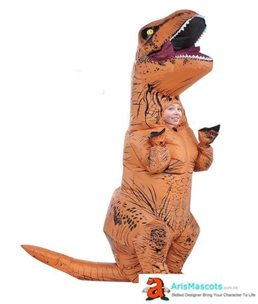 bambini costume gonfiabile costume dinosauro bella costume della mascotte vestito carino per il partito crea le tue mascotte in arismascots