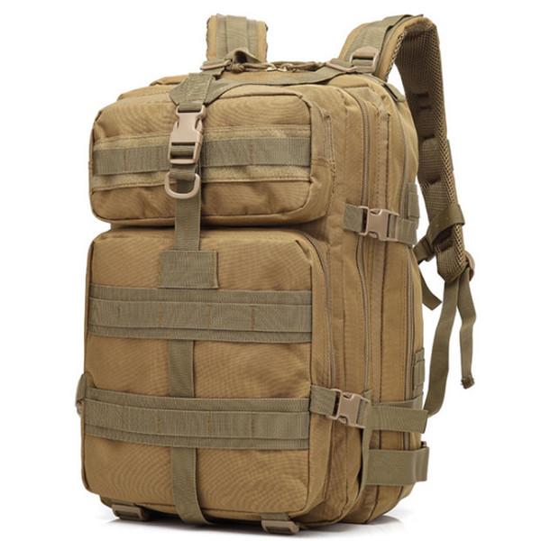 talla 40 bd344 5f0ae Compre 45L Deporte Al Aire Libre Militar Táctico Mochila Molle Mochilas  Camping Trekking Bolsa Senderismo Duffel Bags Gran Capacidad A $23.12 Del  ...