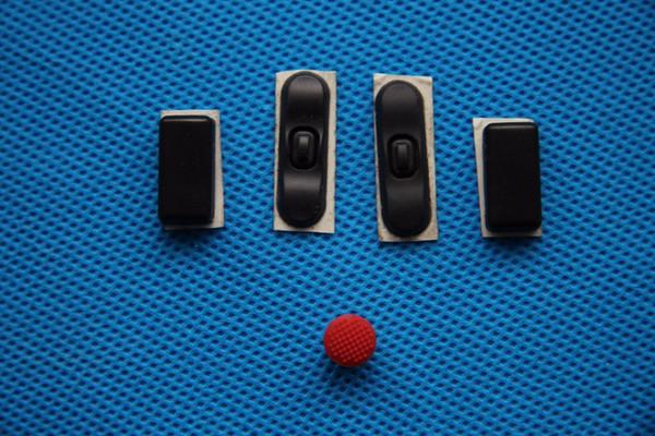 Nuovo originale piedino per piedini inferiori in gomma per Lenovo Thinkpad T420 T420i T430 T430I 4 pezzi / set con TrackPoint