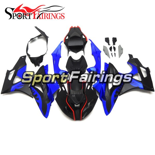 Complete Fairings For BMW S1000RR Year 11 12 13 14 2011 - 2014 Sportbike Plastic ABS Motorcycle Fairing Kit Aftermarket Matte Black Blue New