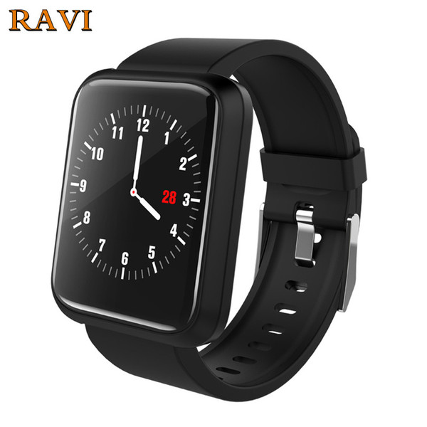 RAVI Sport3 Smart Watch IP67 Fitness Tracker Blood Oxygen Pressure Heart Rate Monitor Remote Music Smartwatch for Android