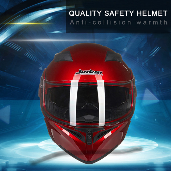 Light-weight Full Face Flip Up Dual Visor Comfortable and Soft Motorcycle Helmet Optional Color of Glass