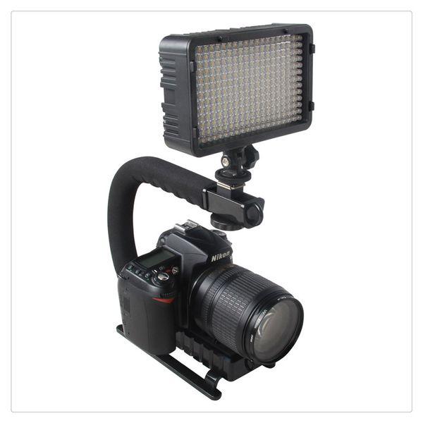 Neue Hohe Qualität Pro Stabilisator U-Form Halterung Video Handheld Grip für Camcorder DSLR Heißer Verkauf