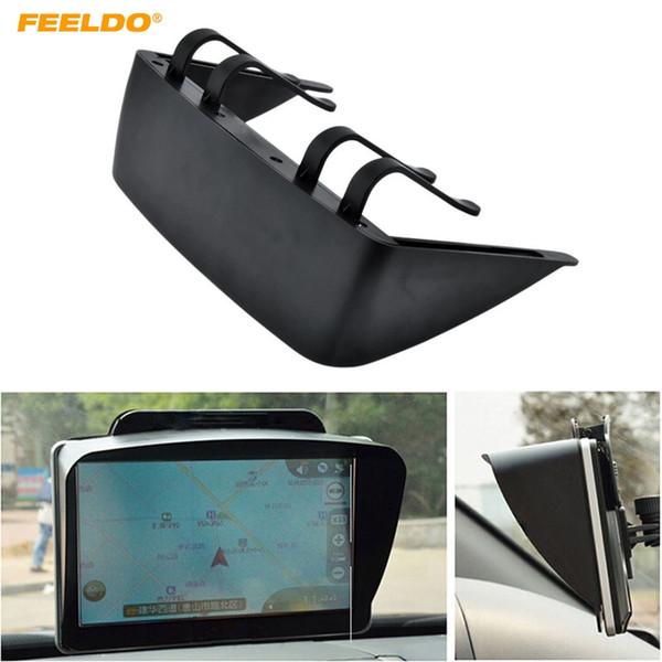 FEELDO Universal Sunshade Sunshine Shield For 6/7 inch Car GPS Navigator Accessories GPS Screen Visor Hood Block #5493