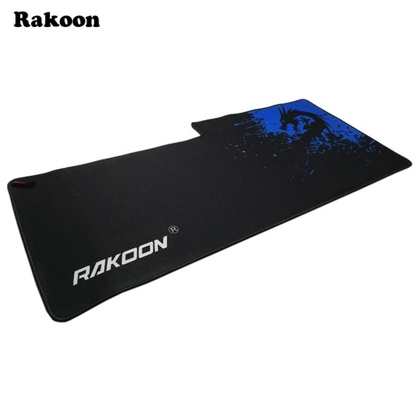 Rakoon 40x90cm Breach Anti-slip 3D Mouse Pad Gamer Large Professional Gaming Mousepad Grande Keyboard Mat for LOL Dota 2 CS GO