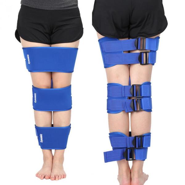wholesale 3Pcs/Set O/X Legs Correction Brace Belt Knock knee Legs Posture Corrector Straightening Bandage Leg Bands Orthotic Kit