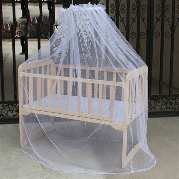 Hot Selling Baby Bed Mosquito Net Mesh Dome Curtain Net for Toddler Crib Cot Canopy 2018 Dropshipping