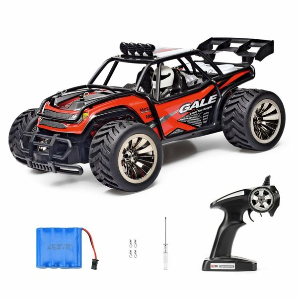 SANTSUN 1:16 Scale Electric RC Car Off Road Vehicle 2.4GHz Radio Remote Control Car 2W High Speed Racing Monster Truck
