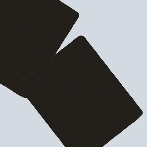 Etmakit Black Slim Square Mouse Pad Mat Mousepad For PC Optical Laser Mouse Trackball Mice Mouse Mat