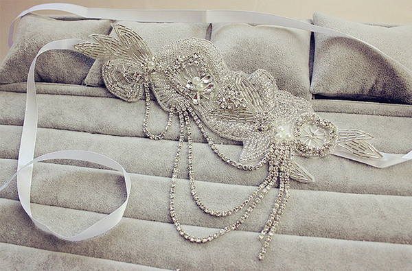 Pearl Chain Bridal Hairband