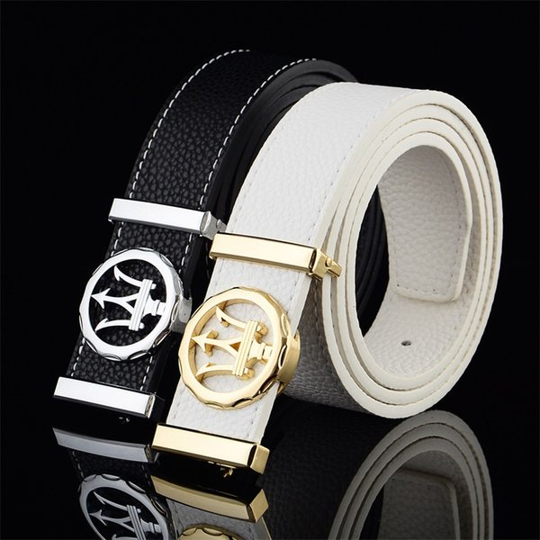 Man Waist Belt Leisure Woman Fashion Smooth Buckle Alloy Tooth Buckle Belts Multicolor Waistband Hot Sale 7 5lx G