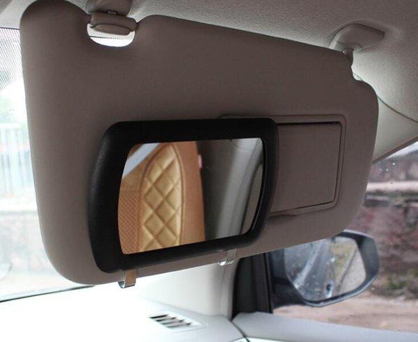 New Led Lighted Black Clip On Sun Visor Vanity Mirror Car Automobile Light Cover Ushirika Coop