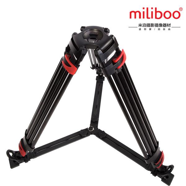 Miliboo MTT609A (ohne kopf) Professionelle Kamera Stativ Schnellwechselplatte Einzigen Handgriff Hydraulische Dämpfer Kopf Anzug Kaldaunen